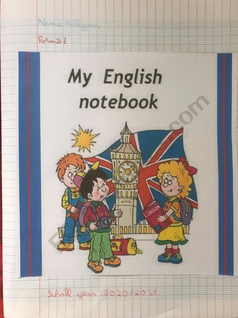 Cahier D'Anglais De 6Eme | Collège Edmond Albius avec Decoration Cahier Anglais