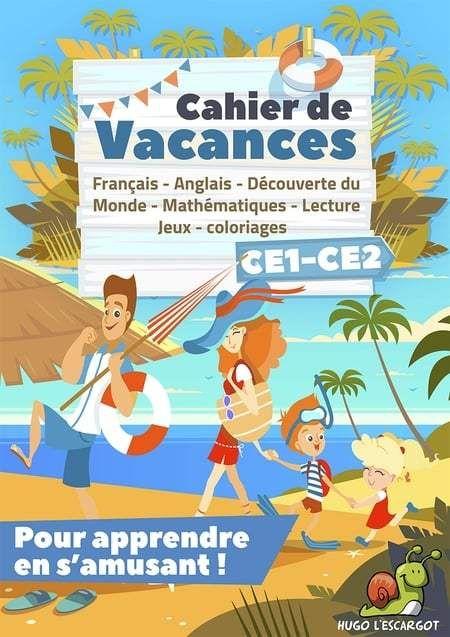 Cahier De Vacances Ce1 Vers Ce2 Gratuit A Imprimer encequiconcerne Journal De Vacances A Imprimer