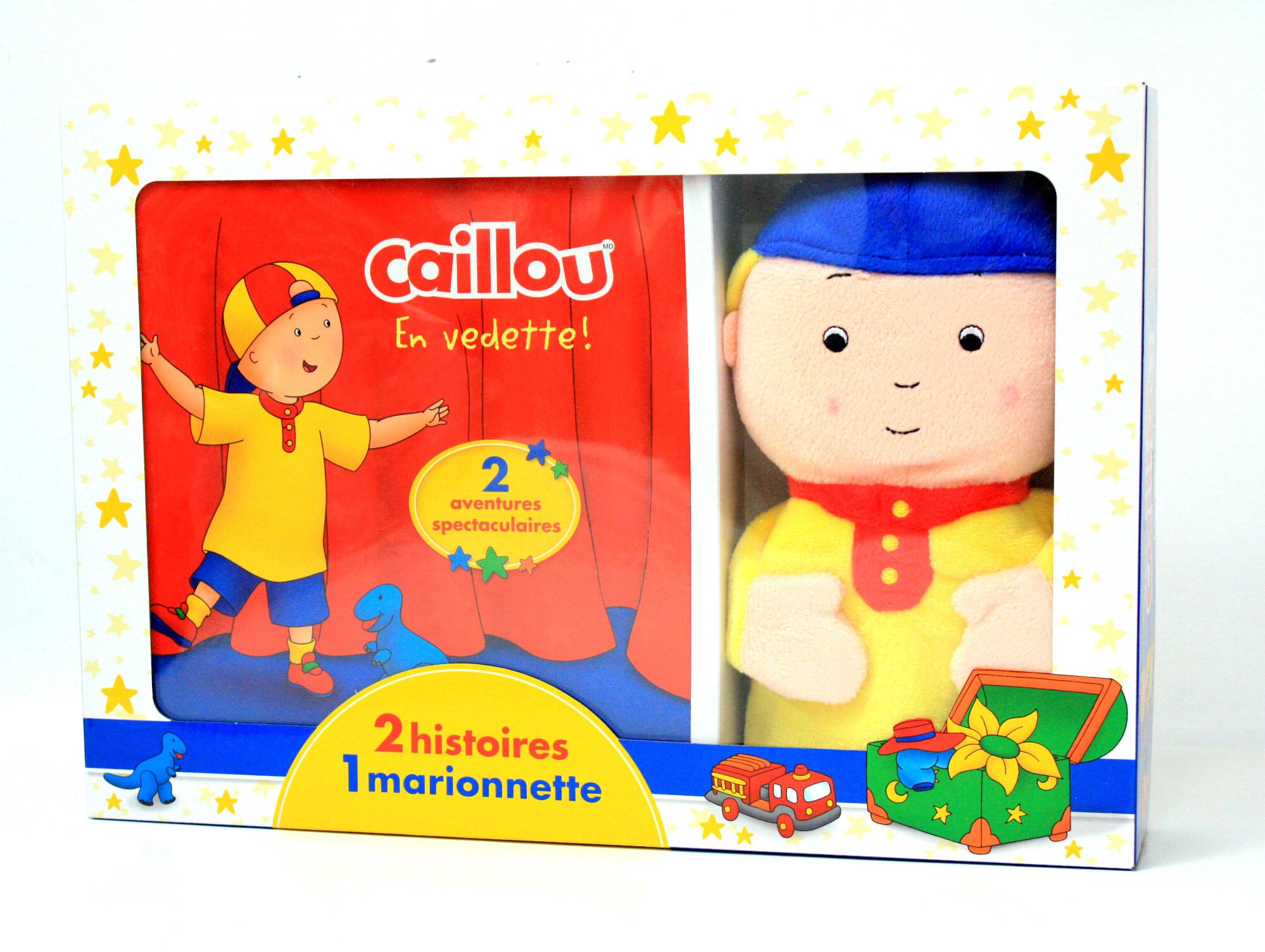 Caillou - 2 Histoires, 1 Marionnette / Jeunesse / Divers encequiconcerne Monsieur Caillou