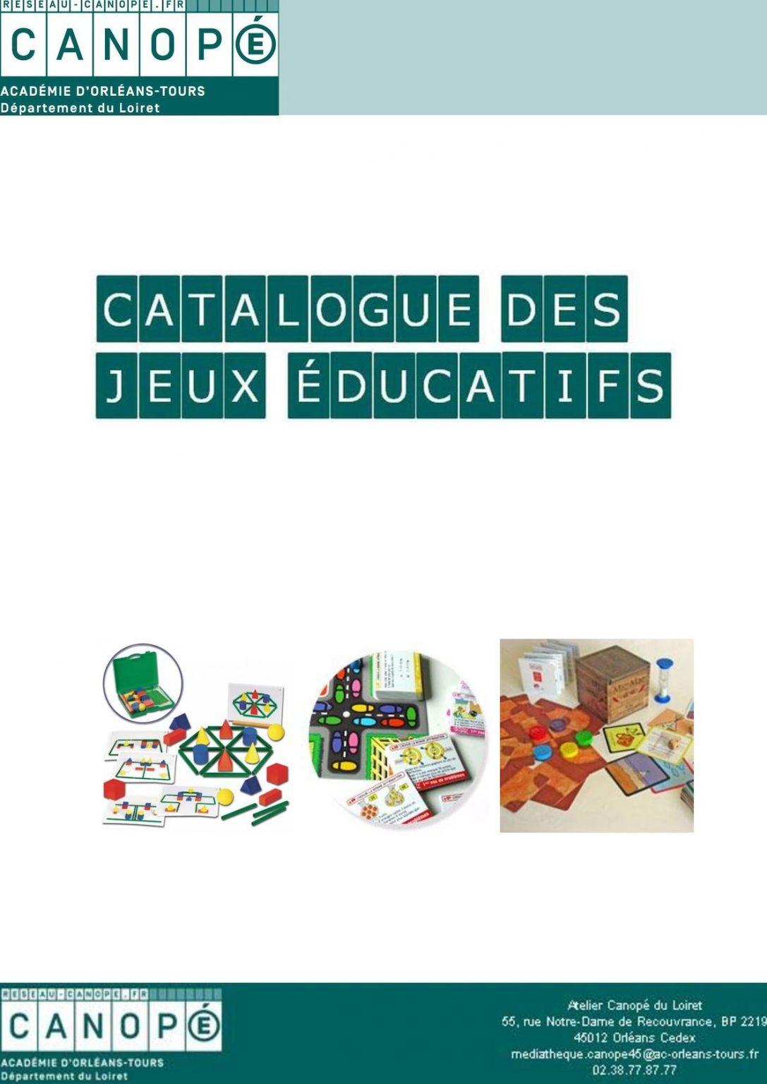 Calaméo - Catalogue Complet Des Jeux Éducatifs Concernant dedans Jeux Éducatifs Collège À Imprimer