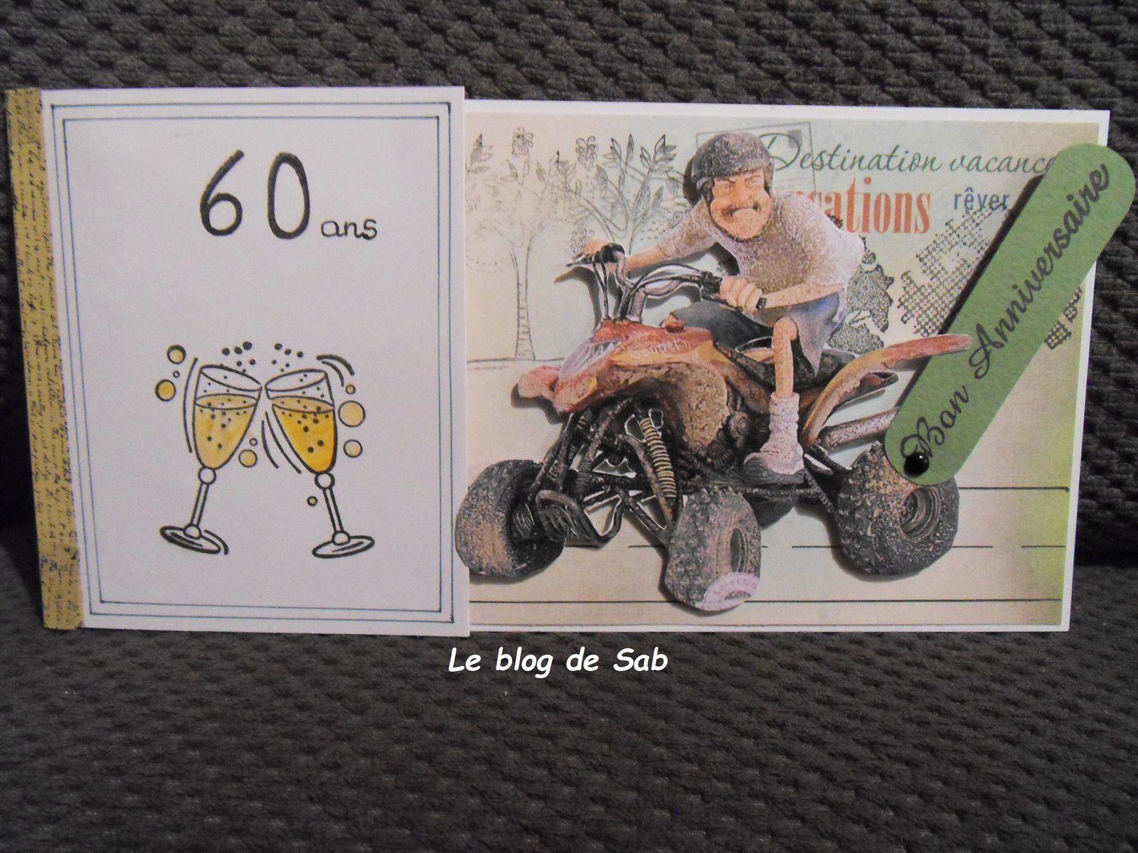 Carte Anniversaire 60 Ans Et Retraite, Carte concernant Texte Humoristique Pour Invitation Anniversaire 60 Ans