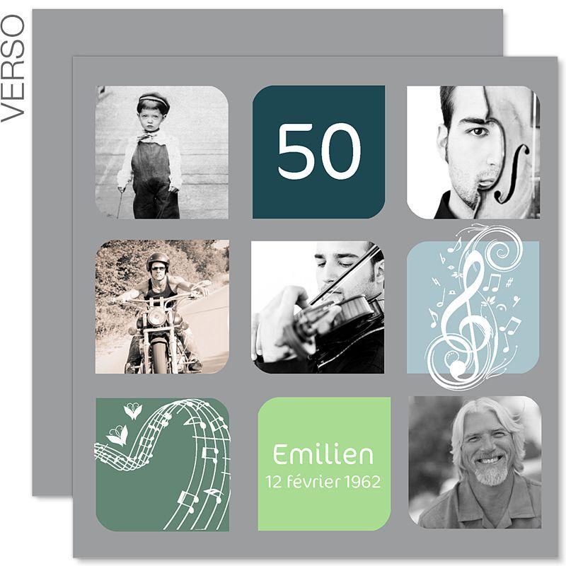 Carte D Invitation Anniversaire 50 Ans avec Idée Texte Invitation Anniversaire 50 Ans