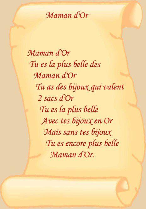 Carte De Fete - Page 2 avec Lettre Maman Anniversaire