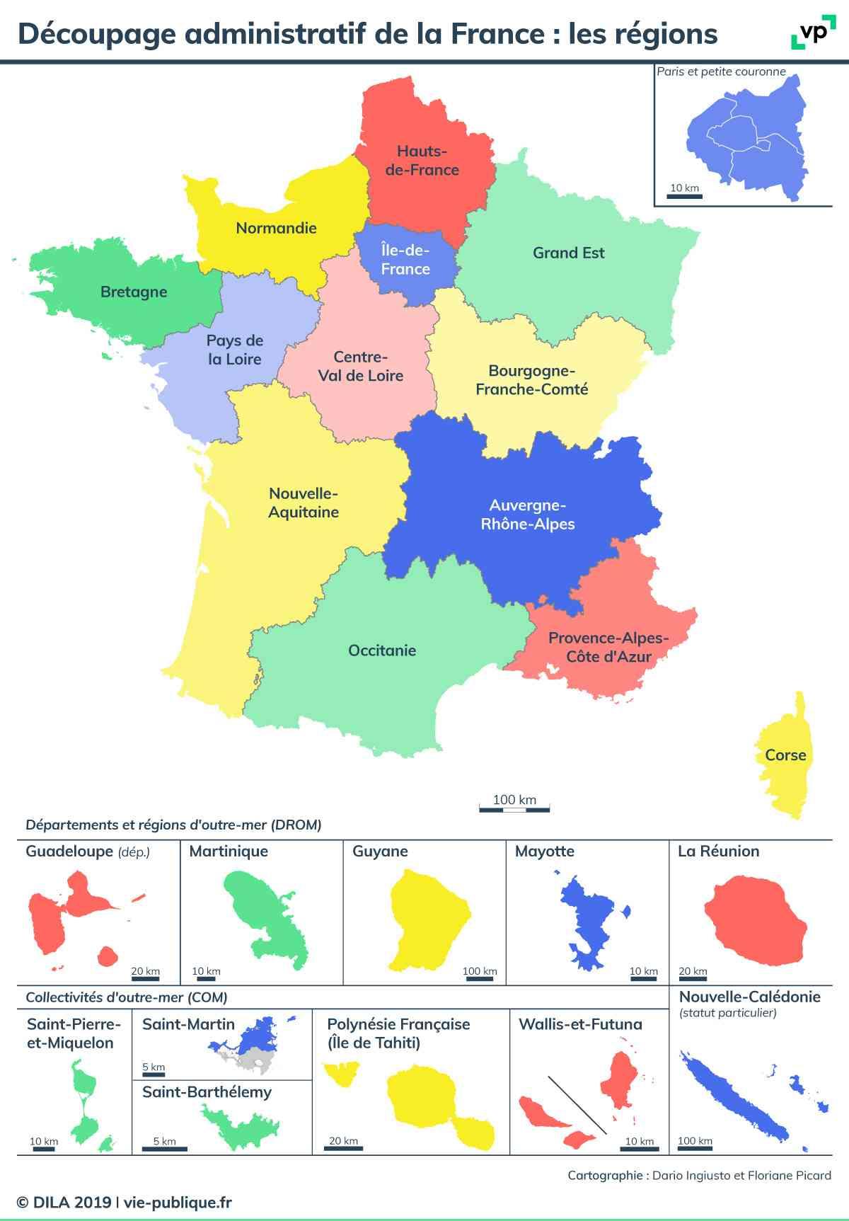 Carte De France Des Régions En 2015 » Vacances - Guide Voyage encequiconcerne Region De France 2018