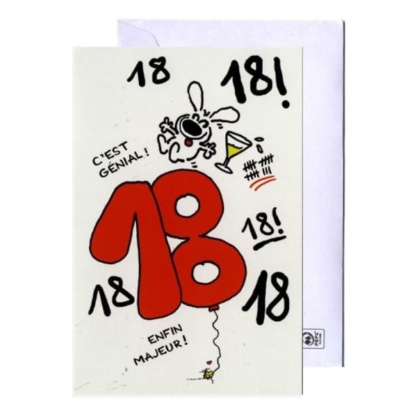 Carte D'Invitation Anniversaire 18 Ans Gratuite À Imprimer intérieur Invitation 18 Ans Garcon