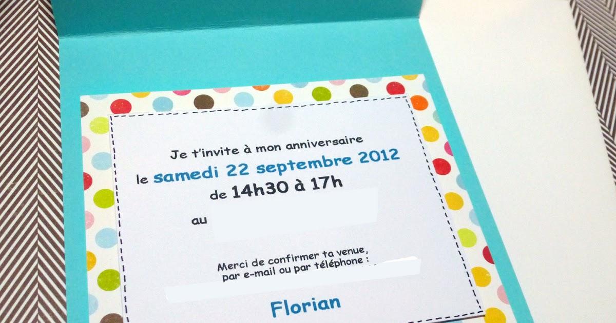 Carte Invitation Anniversaire Fille 11 Ans serapportantà Invitation Anniversaire 4 Ans Fille