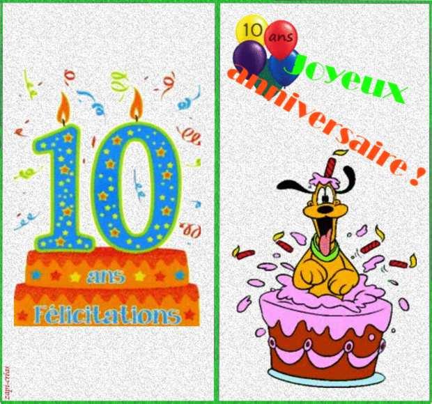 Carte Joyeux Anniversaire À Imprimer Garçon intérieur Jeux Pour Anniversaire 10 Ans Garçon