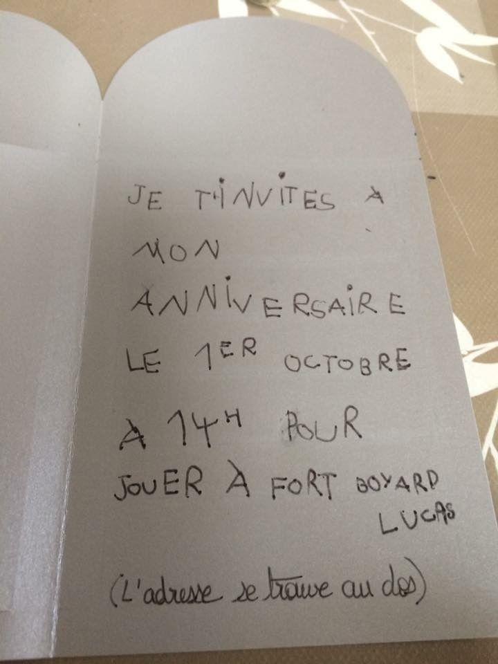Cartes D'Anniversaire Sur Le Thème De Fort Boyard | Carte tout Invitation Anniversaire Cultura