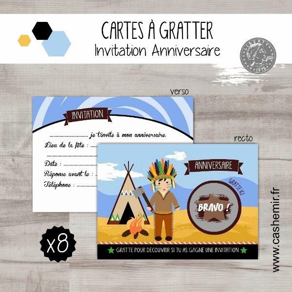 Cartes Invitation Anniversaire Enfant Garçon Par Lot De 8 à Invitation Anniversaire Par Internet