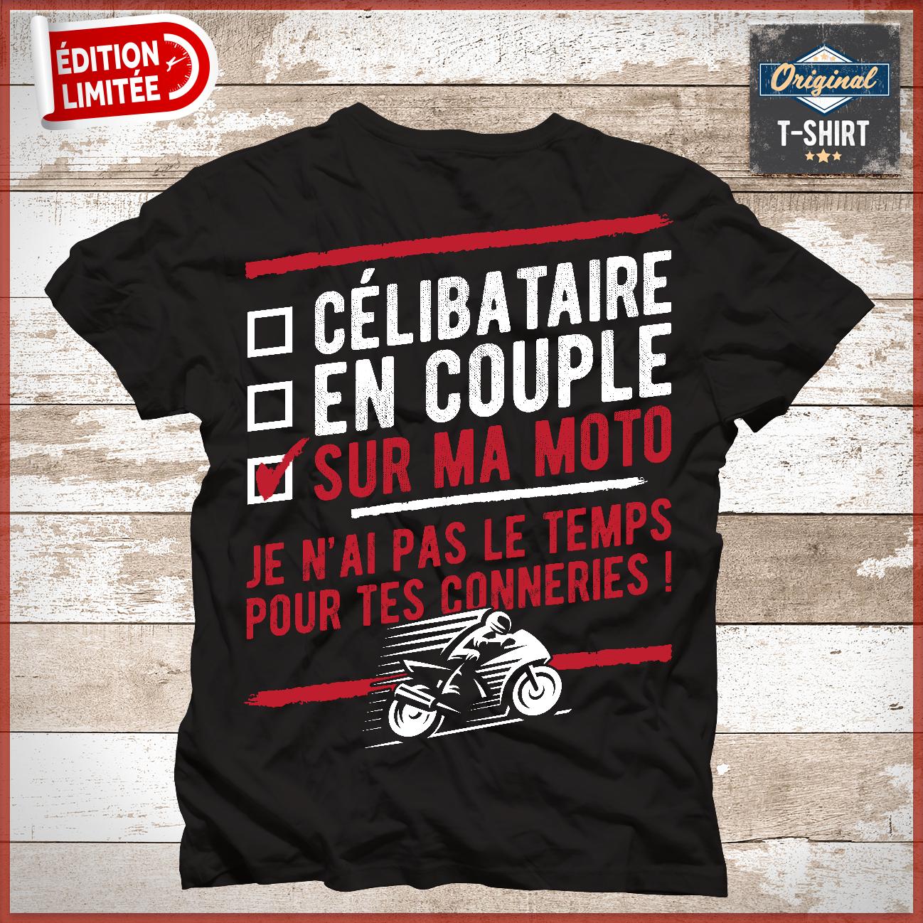 """""""Célibataire En Couple Sur Ma Moto Je N'Ai Pas Le Temps serapportantà Je N Ai Pas Le Temps En Anglais"""
