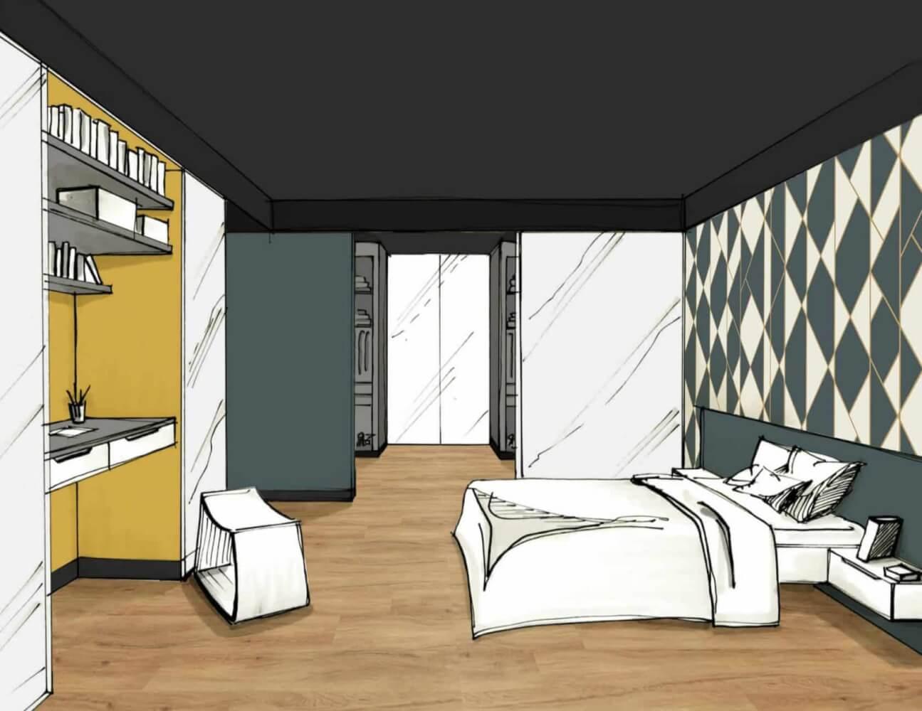 Chambre-Graphique - L'Atelier Des Couleursl'Atelier Des tout Atelier De Couleurs
