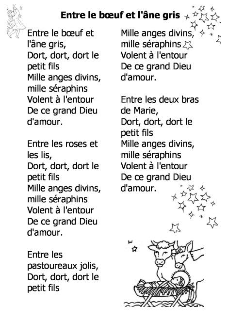 Chanson De Noel En Francais Avec Parole avec Petit Papa Noel Chanson Avec Parole