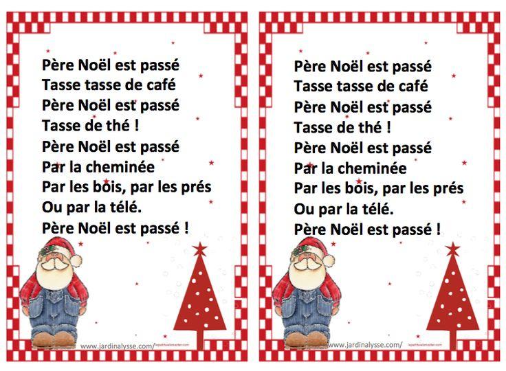 Chant De Noel Cycle 1 serapportantà Comptine De Noel Maternelle