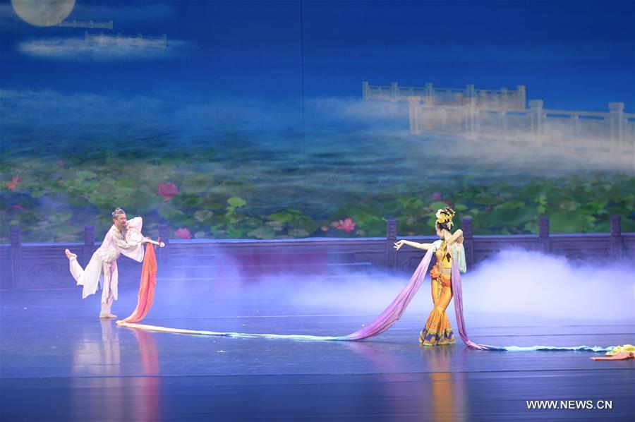 """Chine : Première Du Spectacle De Danse """"Route De La Soie"""" concernant Spectacle Danse Chinoise"""
