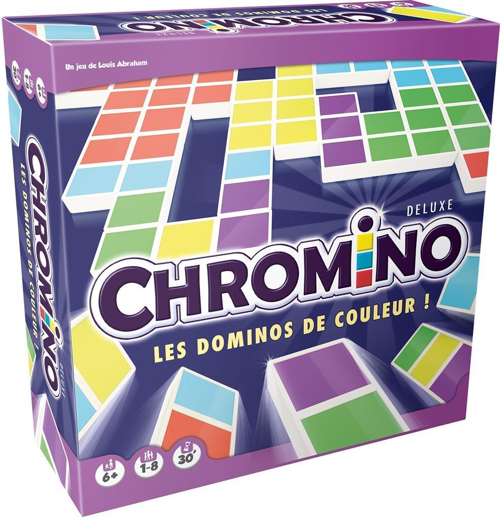 Chromino Deluxe - Acheter Vos Jeux De Société En Famille dedans Jeu De Chromino