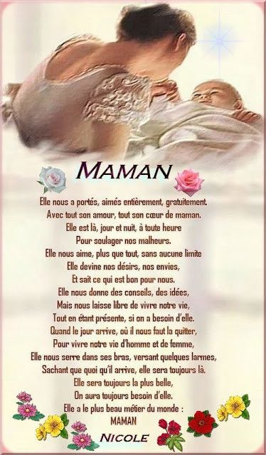 Citations Fête Des Mères encequiconcerne Jolie Poeme Pour Maman