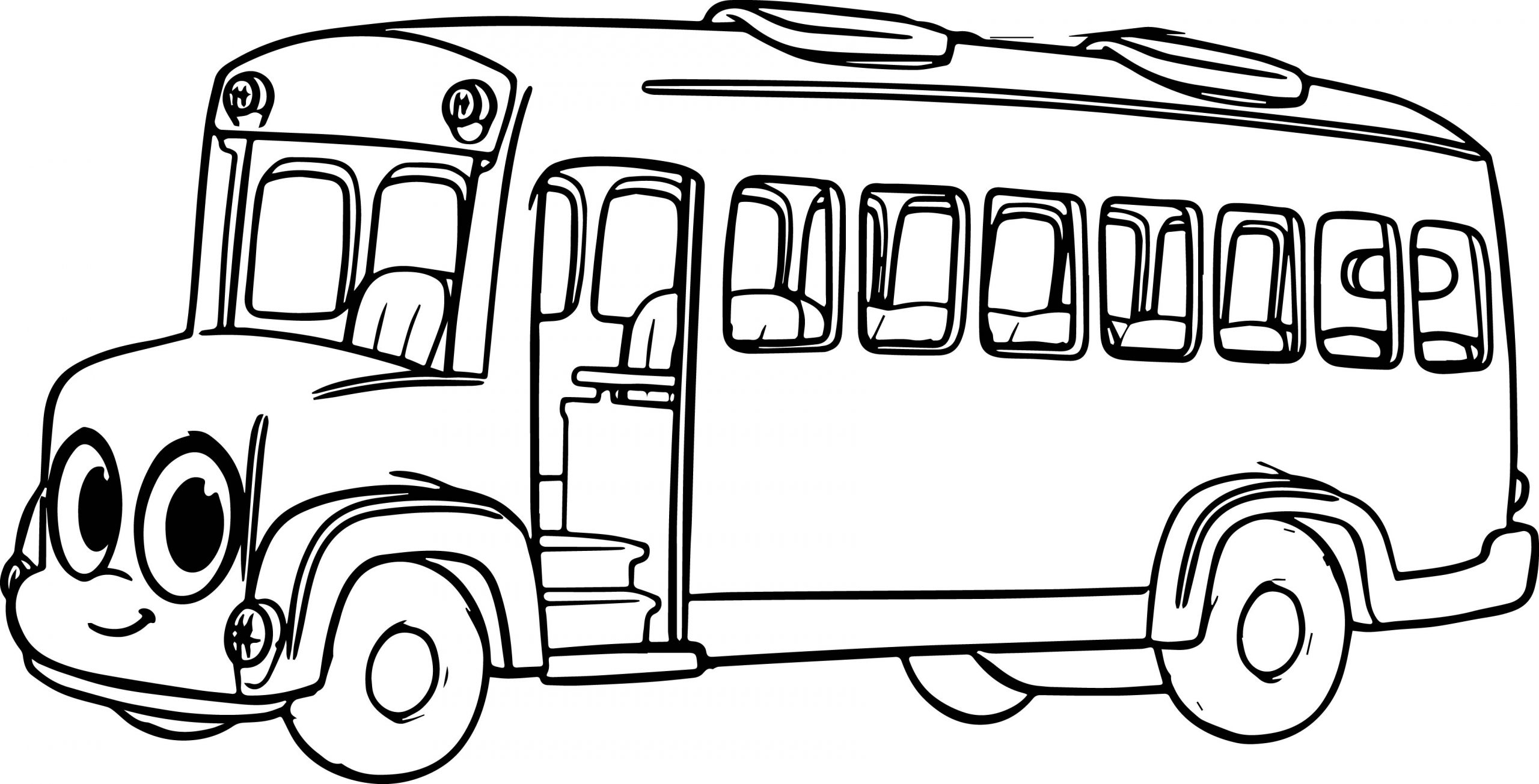 City Bus Coloring Page At Getcolorings | Free intérieur Dessin Bus