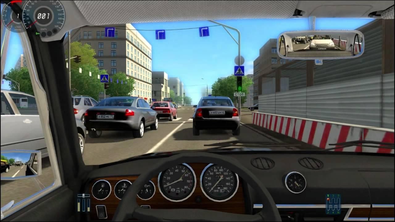 City Car Simulator. En Voiture Avec Bloudman (Heureusement tout Telecharger Jeux Gratuit Voiture Pc