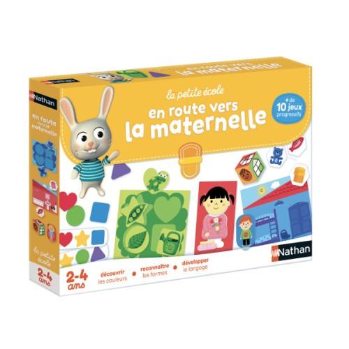 Coffret De Jeux En Route Vers La Maternelle Nathan Pour destiné Jeux Enfant 2 3 Ans