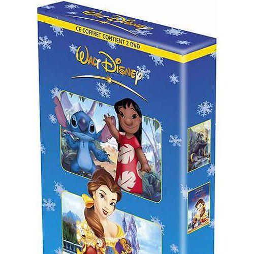Coffret - Stitch ! Le Film + Le Monde Magique De La Belle avec Le Monde Magique De La Belle Et La Bête