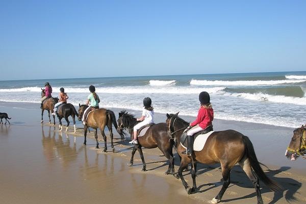 Colonie De Vacances Equitation À La Mer Été 2020 - 6 À 10 à Jeux De Vacances A La Plage