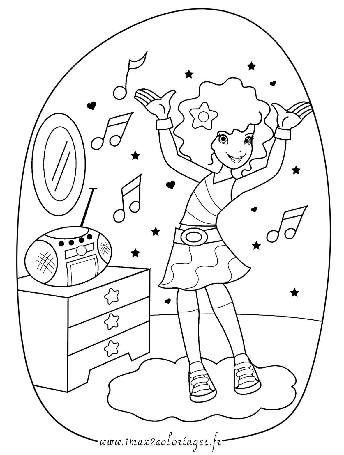 Coloriage À Dessiner Note De Musique concernant Note De Musique A Colorier