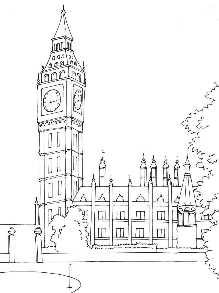 Coloriage Angleterre 7 - Coloriage Angleterre - Coloriages tout Dessin De Angleterre