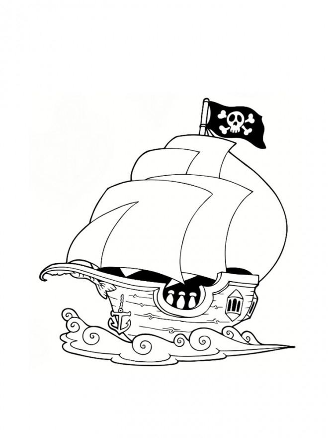 Coloriage Bateau Pirate Gratuit À Imprimer Liste 20 À 40 encequiconcerne Coloriage De Pirates A Imprimer Gratuit