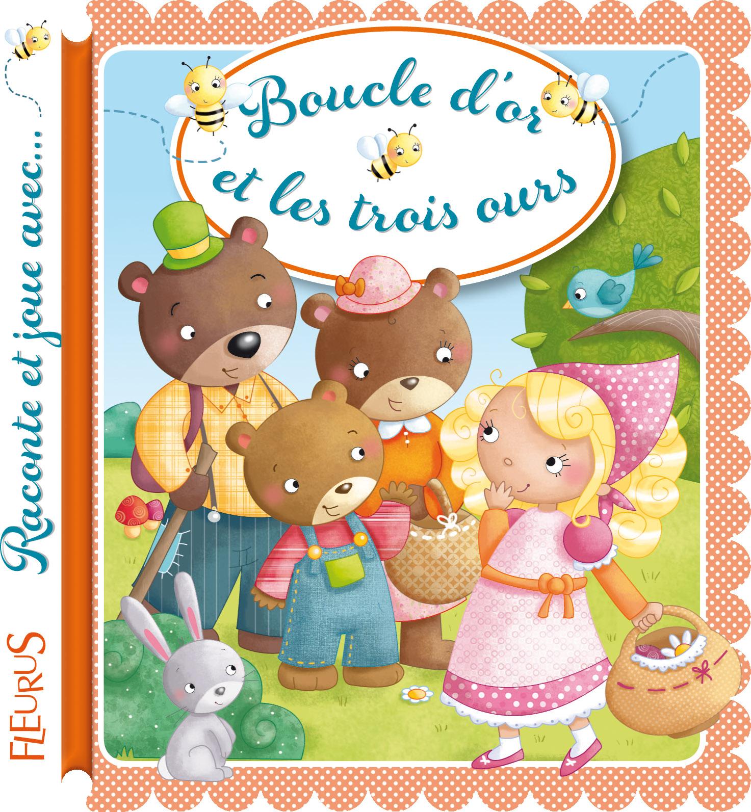 Coloriage Boucle D'Or Et Les 3 Ours À Imprimer dedans Histoire De Boucle D Or