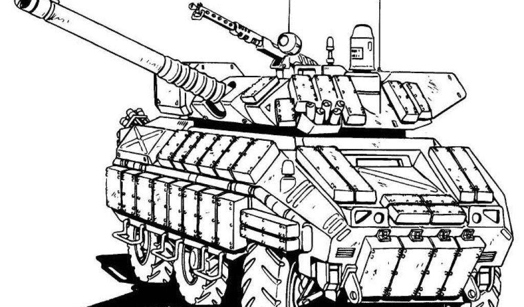 Coloriage De Tank Militaire Tank 50 Transport - Coloriages serapportantà Dessin Char