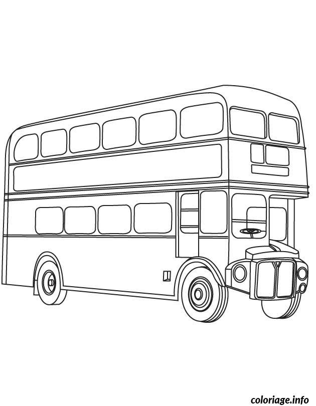 Coloriage Dessin Bus Enfant 50 Dessin Enfants À Imprimer à Dessin Bus