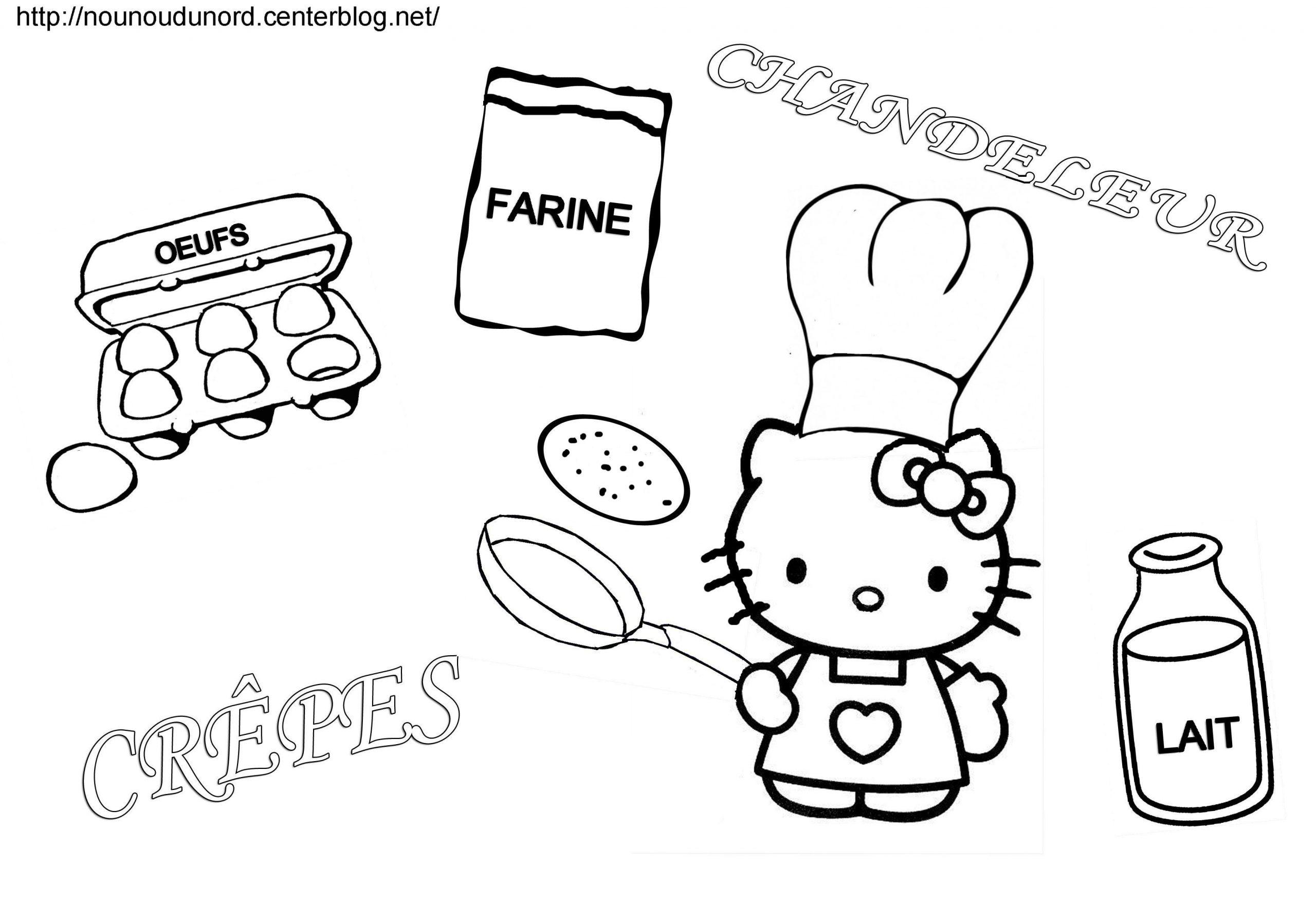 Coloriage Hello Kitty #36933 (Dessins Animés) - Album De à Hello Kitty Dessin Animé En Francais