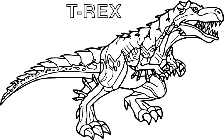 Coloriage Imprimer Dinosaure Tyrex From Coloriage T Rex avec Coloriage Dinosaure Imprimer