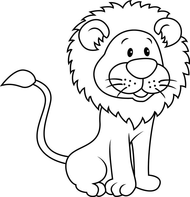 Coloriage Lion 13 Dessin Gratuit À Imprimer intérieur Photo De Lion A Imprimer En Couleur