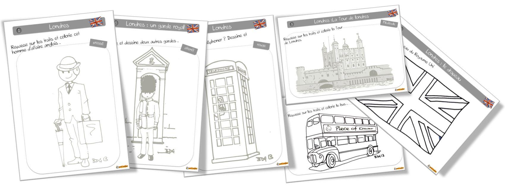 Coloriage Londres Bdg. | Coloriage Londres, Drapeau serapportantà Coloriage Drapeau Angleterre