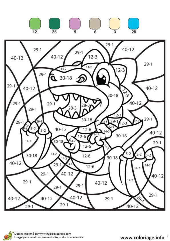 Coloriage Magique Ce2 Ce1 Soustraction 5 À Imprimer concernant Jeux Educatif Ce1 A Imprimer