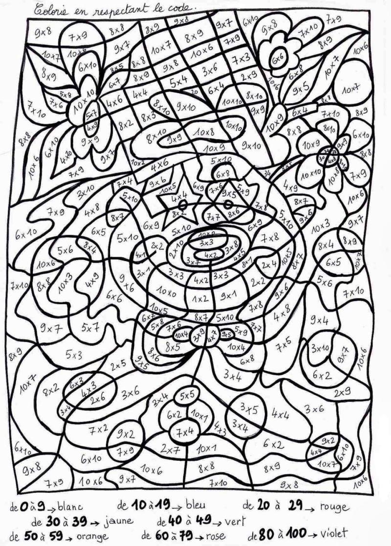 Coloriage Magique Maternelle. Imprimer La Coloration Logique avec Coloriage Magique Gs À Imprimer
