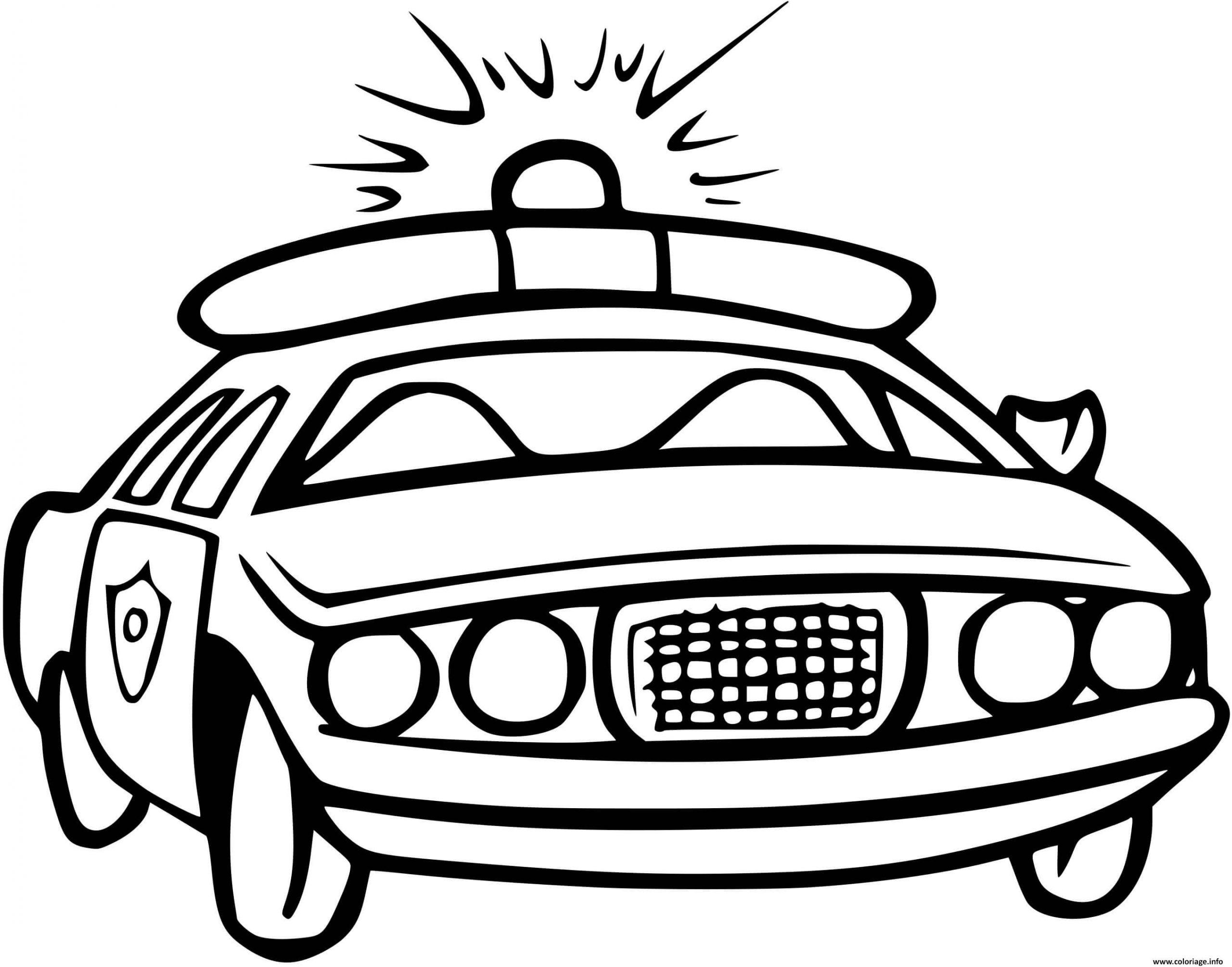 Coloriage Vehicule De Police Canadienne Dessin Voiture De dedans Dessin Voiture De Police A Imprimer