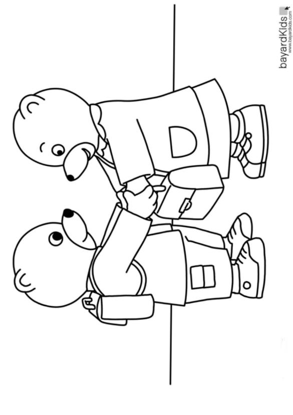 Coloriages À Imprimer : Petit Ours Brun, Numéro : 755438 avec Coloriage De Petit Ours Brun