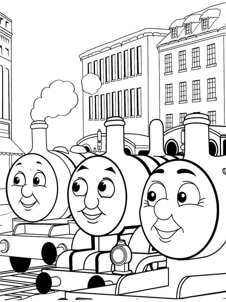 Coloriages Thomas Le Train Gratuits À Imprimer Pour Les destiné Coloriage Train Thomas