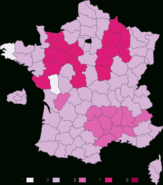 Combien De Bises (Avec Images) | Bises, Carte De France dedans Combien De Departement En France