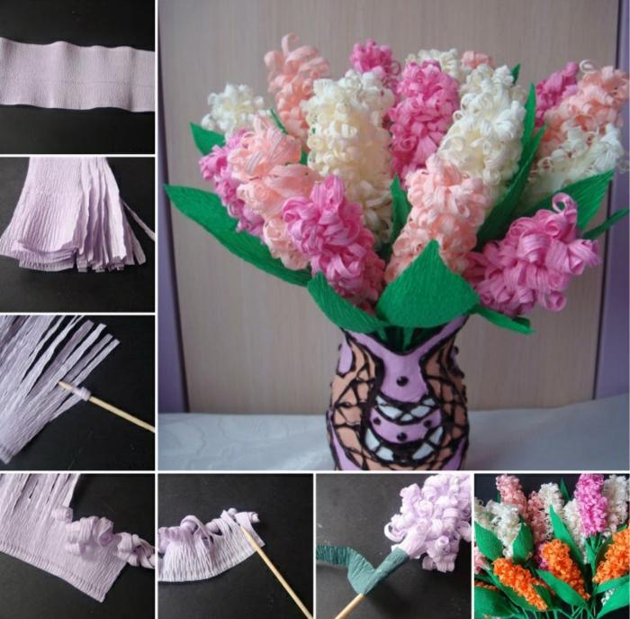 Comment Créer Une Fleur En Papier Crépon - Archzine.fr tout Comment Faire Une Rose Avec Du Papier