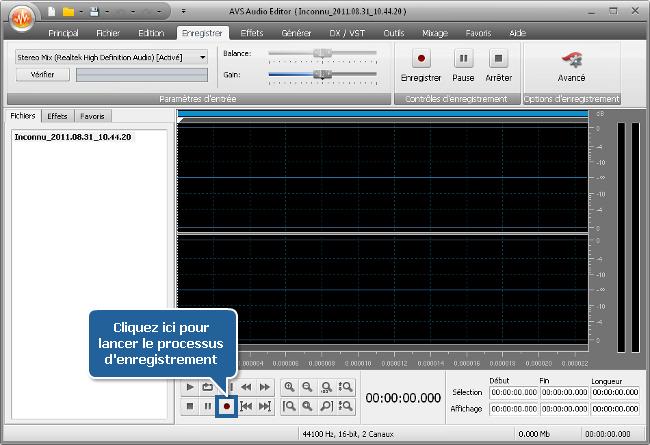 Comment Enregistrer De La Musique En Utilisant Avs Audio destiné Enregistrer Des Chansons