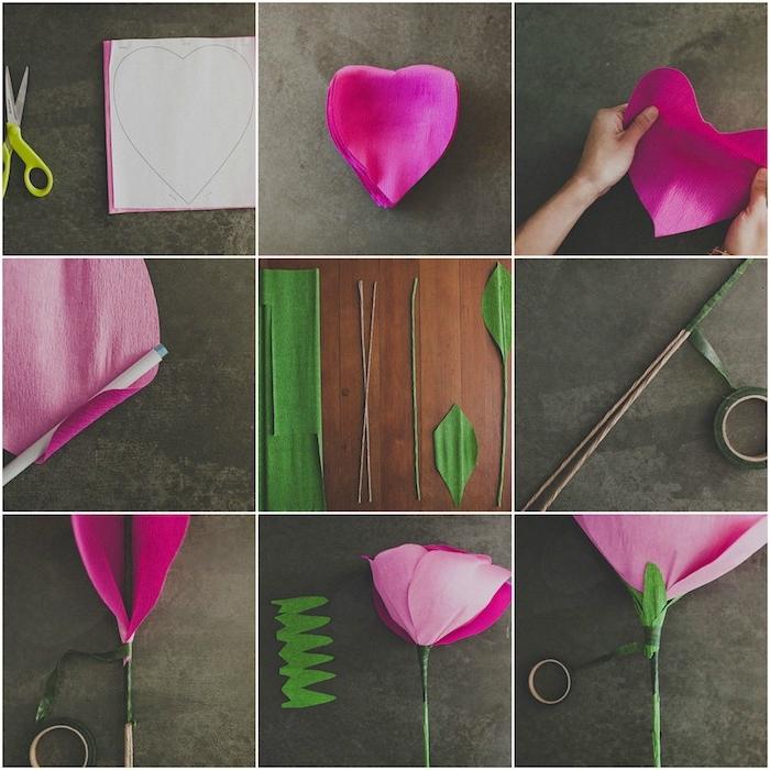 Comment Faire Une Fleur En Papier - Plusieurs Tutoriels Et pour Comment Faire Une Rose Avec Du Papier