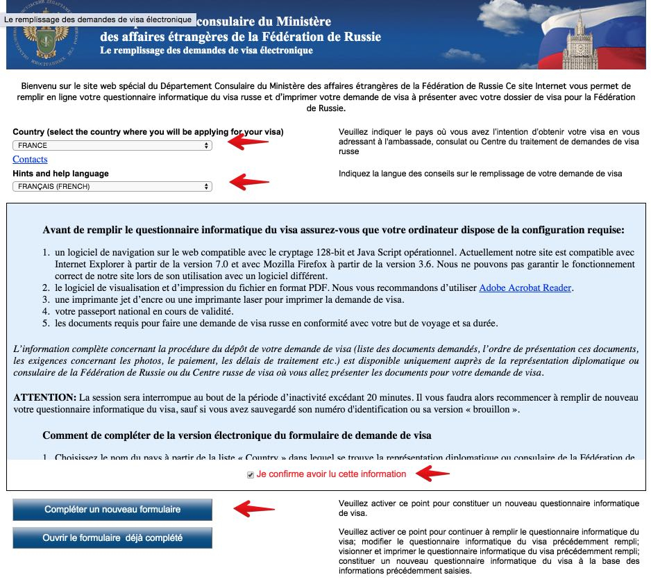 Comment Obtenir Le Visa Pour La Russie De Manière tout Lettre Invitation Visa Russie