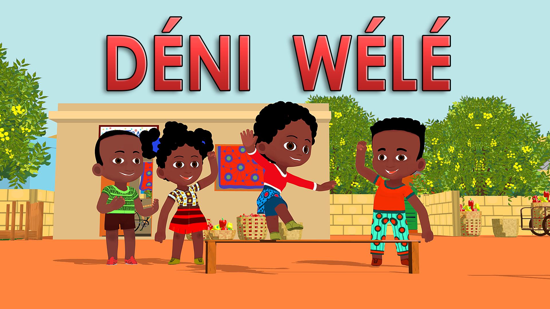 Comptine De L'Afrique De L'Ouest, Chantée En Bamanan pour Comptines Afrique