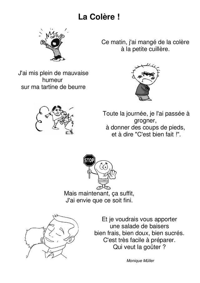 Comptines Émotions (La Maternelle De Camille) | Émotions concernant Comptine Rentrée Maternelle