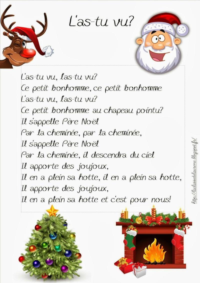 Comptines - Page 3 - Les Petites Kanailles concernant Comptine De Noel Maternelle