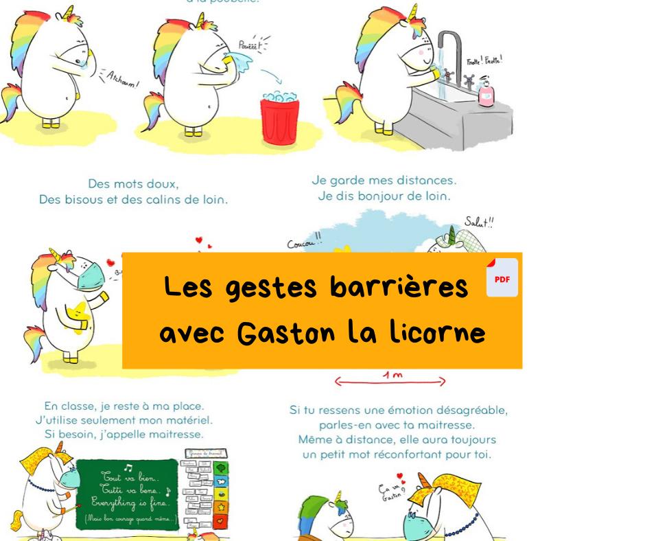 Corona Minus, La Chanson Des Gestes Barrières Pour L'École pour La Licorne Chanson
