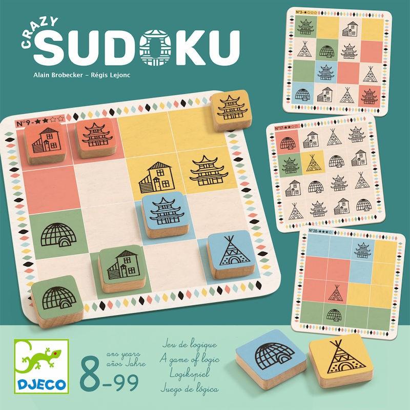 Crazy Sudoku, Jeu De Logique Djeco 8488 pour Je De Logique